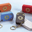 Telephone And Address Key Ring