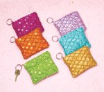 Coin Purses with Keychain