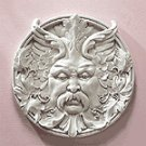 Alabastrite Bacchus Wall Plaque