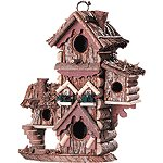 Gingerbread-Styled Birdhouse