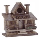 Moose Lodge Wood Birdhouse