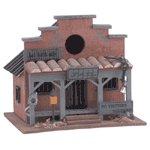 County Jail Wood Birdhouse