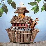 This winsome birdhouse can make life a day at the beach for your avian visitors. Exclusive.