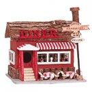 Wood Diner Birdhouse