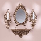 Baroque Mirror-Sconce