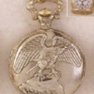 Pocket Watch - Eagle