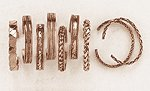 12-Piece Assorted Copper Bracelet