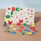 Wood Alphabet Jigsaw Puzzle