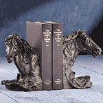 Liberty Bronze Horse's Head Bookends