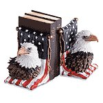 Alabastrite American Eagle Bookends