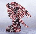 American Flag - Patchwork Eagle