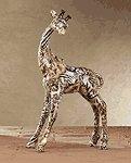 Patchwork Giraffe - Safari