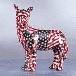 Patriotic Patchwork Donkey