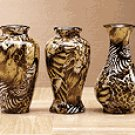 Mini Safari Patchwork Vases