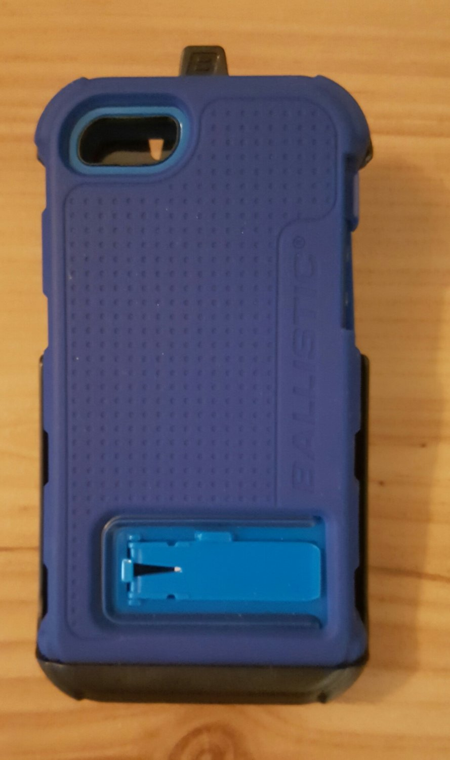 Ballistic HC Rugged Hard Core Case Holster Clip For iPhone 5 5S SE - Blue