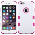 MYBAT Ivory White/Hot Pink TUFF Hybrid Phone Protector Cover