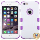 MyBat iPhone 6 Plus 6s Plus TUFF Hybrid Phone Protector Cover  - Ivory/Purple