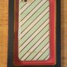 NIB Dabney Lee iPhone 6 6s Case Mint Green Aqua and Gold