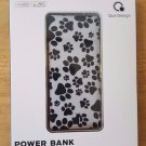Que Design 5000MAH Power Bank (Paw Print)