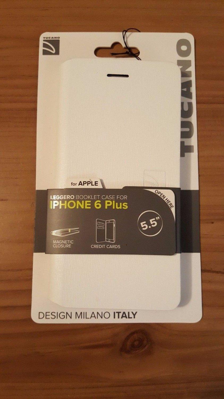 Tucano Leggero Hard Booklet Case for iPhone 6 Plus/ 6s Plus