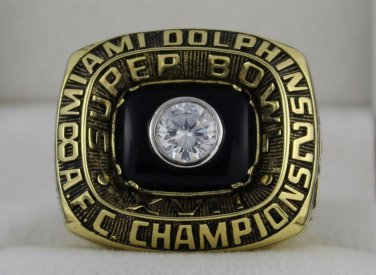 1982 Miami Dolphins AFC American Football Conference Championship Rings Ring
