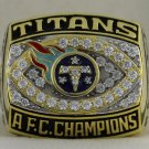 1999 Tennessee Titans AFC American Football Conference Championship Rings Ring