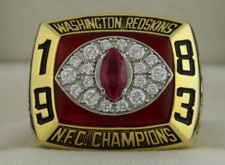 1983 Washington Redskins NFC National Football Conference Championship Rings Ring