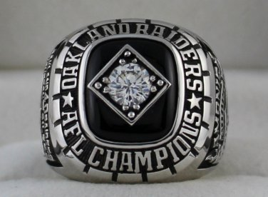 1967 Oakland Raiders AFL Championship Rings Ring