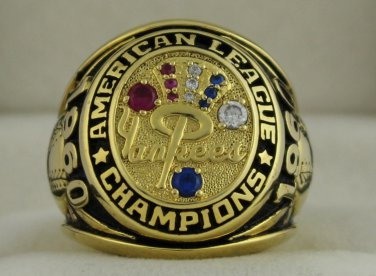 1960 New York Yankees AL American League World Series Championship Rings Ring