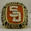 1984 San Diego Padres NL National League World Series Championship Rings Ring