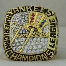 2001 New York Yankees AL American League World Series Championship Rings Ring