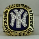 1981 New York Yankees AL American League World Series Championship Rings Ring