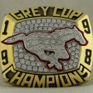 1998 Calgary Stampeders CFL Grey Cup  Championship Rings Ring