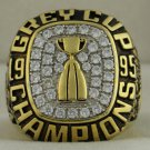 1995 Baltimore Stallions The 83rd Grey Cup Championship Rings Ring
