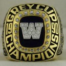 1990 Winnipeg Blue Bombers The 78th Grey Cup Championship Rings Ring