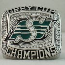 2007 Saskatchewan Roughriders CFL Grey Cup Championship Rings Ring
