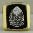 1948 Cleveland Indians World Series Championship Rings Ring