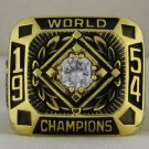 1954 New York Giants World Series Championship Rings Ring