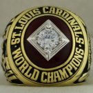 1964 St. Louis Cardinals MLB World Series Championship Rings Ring