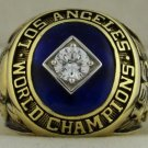 1965 Los Angeles Dodgers World Series Championship Rings Ring