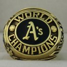 1974 Oakland Athletics World Series Championship Rings Ring