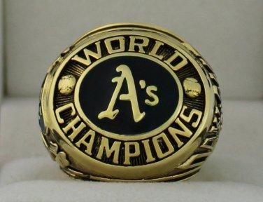 1974 Oakland Athletics World Series Championship Rings Ring