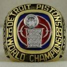 1989 Detroit Pistons NBA National Basketball Championship Rings Ring