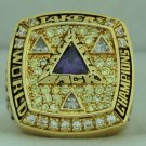 2002  La Lakers Championship Rings Ring