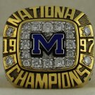 1997 Michigan Wolverines NCAA Rose Bowl National Championship Ring