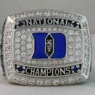 2010 Duke Blue Devils NCAA Basketball  National Championship Rings Ring
