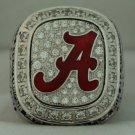 2012 Alabama Crimson Tide NCAA SEC National Championship Rings Ring