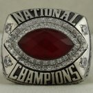 2012 Alabama Crimson Tide Allstate BCS National Championship Rings Ring