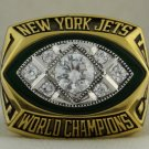 1968 New York Jets NFL Super Bowl Championship Rings  Ring
