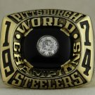 1974 Pittsburgh Steelers NFL Super Bowl Championship Rings  Ring
